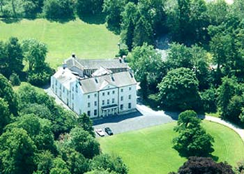 Glansevin Mansion in the Brecon Beacons